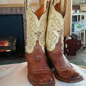 LUCCHESE WOMENS 2000 SQUARE TOE 8 B